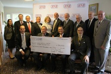 The Honesdale National Bank Charitable Foundation check presentation